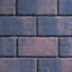 Rectangular cobble sett block paving