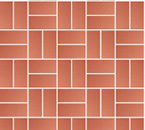 Basketweave Block Paving Pattern