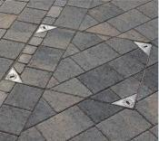 Block Paving Recessed Manhole Cover Installed