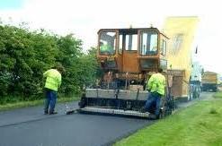 Machine laid stone mastic asphalt 2