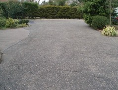 Tarmac Restoration - Before Treatment
