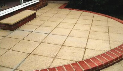 Cleaning Block Paving - After