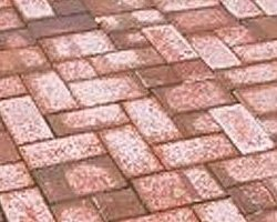 Efflorescence on Block Paving