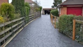 Pattern Imprinted Concrete Prices - London Cobble Driveway