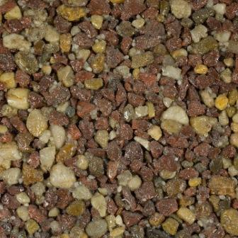 Resin Bound Aggregate - Terracotta Gold