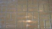 New Brick Basket Weave Pattern Imprinted Concrete Prices
