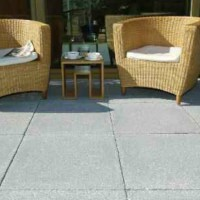 Paved Patio with Seating Area