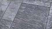 Royal Ashlar Slate in Pattern Imprinted Concrete