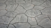 Split Rubble Stone Pattern Imprinted Concrete