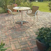 Patio Paving Quote - Rustic Brick Effect Patio