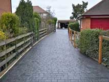 Pattern Imprinted Concrete Driveway Quote