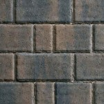 Multi-size smooth contemporary block paving