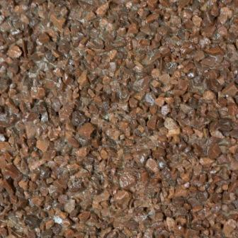 Resin bonded aggregate - Red Granite