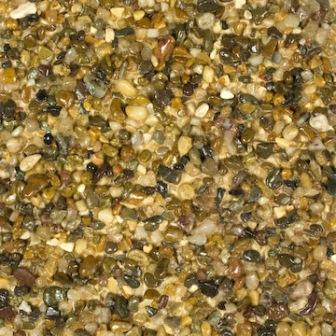 Resin bonded aggregate - Rounded Sepia