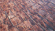 Ashlar Slate Pattern Imprinted Concrete Concrete