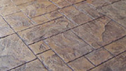Grand Ashlar Slate Pattern Imprinted Concrete