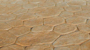 Large Random Stone Pattern Imprinted Concrete