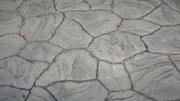 Split Rubble Stone Pattern Imprinted Concrete