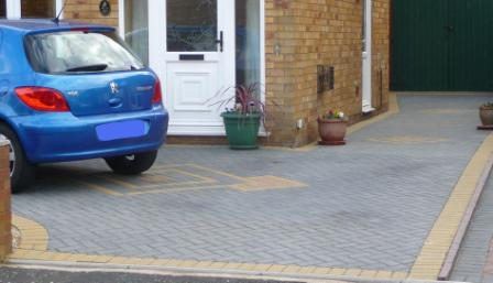 Block Paving Quote - Block Paving Driveway with contrasting border