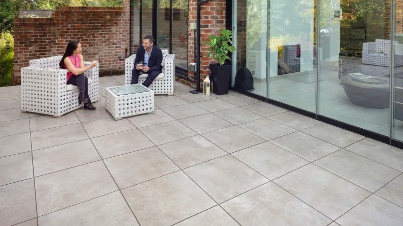 Porcelain Paving Prices - Marshalls Symphony Plus Natural