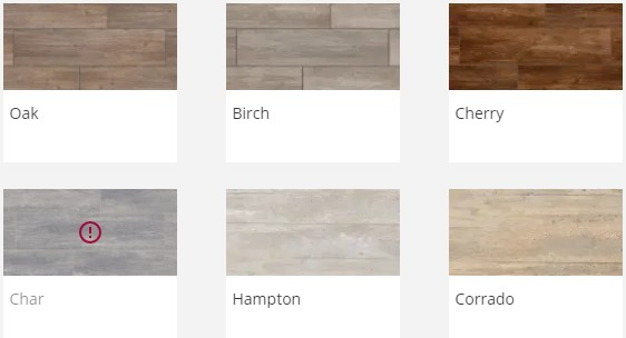 Porcelain Paving Prices - Marshalls Symphony Vitrified Planks Colours