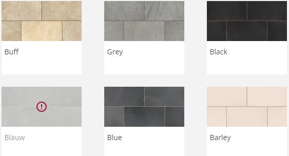 Porcelain Paving Prices - Symphony Classic Colours
